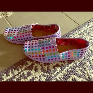 Girls Bobs slip ons youth size 3